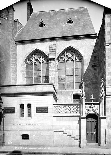 Université (ancienne) Salle des Thèses : façade sur rue, Mieusement, Médéric (photographe),