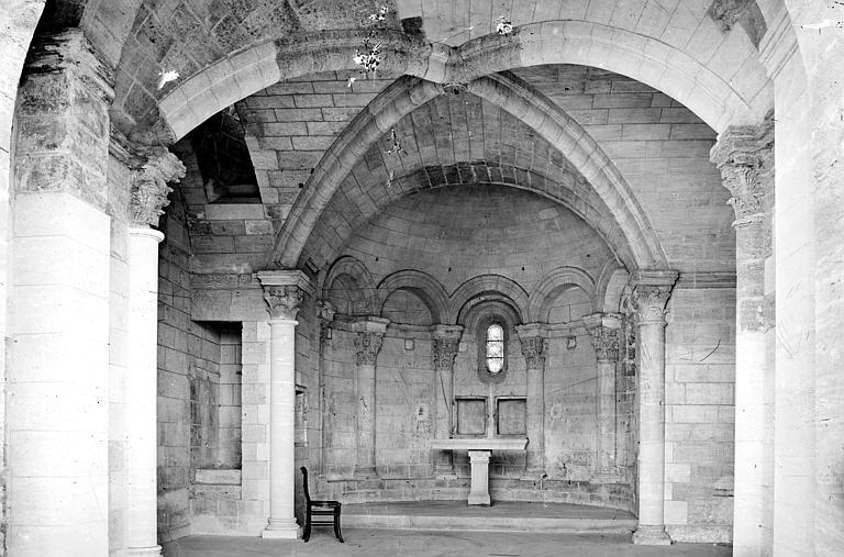 Chapelle Saint-Bénézet Intérieur, autel, Mieusement, Médéric (photographe),