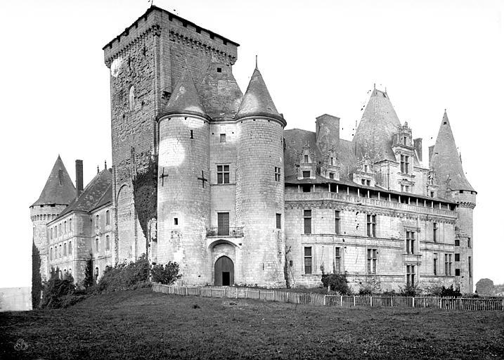 Château Ensemble nord-ouest, Mieusement, Médéric (photographe),