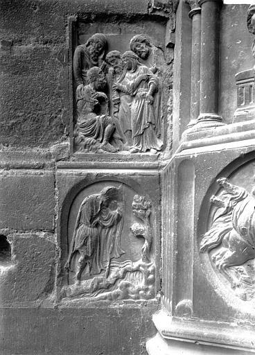 Cathédrale Notre-Dame Bas-relief, Enlart, Camille (historien),