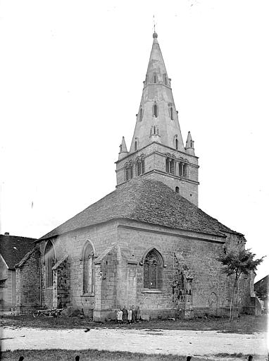 Eglise Notre-Dame de Mouthier-le-Vieillard Angle sud-est, Gossin (photographe),