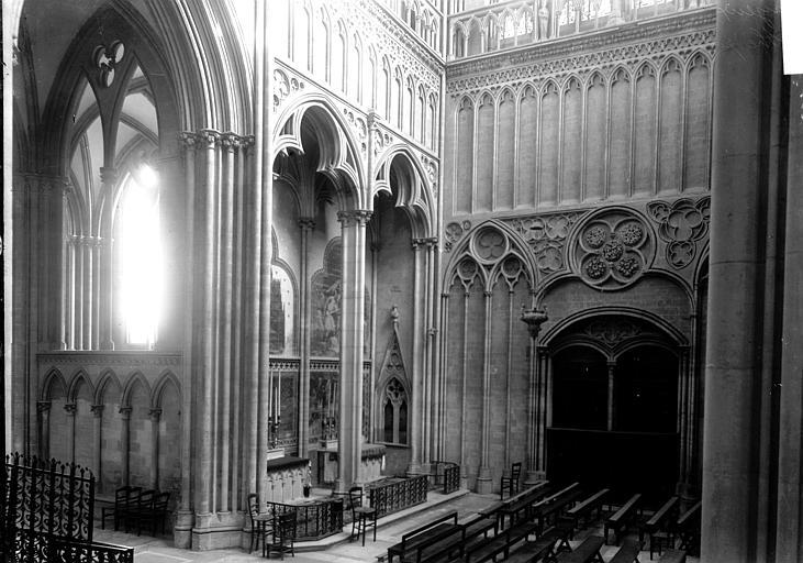 Cathédrale Bras sud du transept, Enlart, Camille (historien),