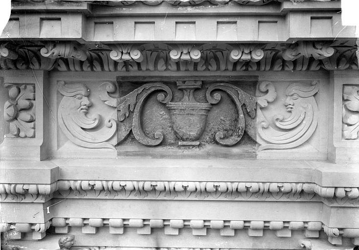 Cathédrale Saint-Gatien Couronnement d'un clocher : frises, ,