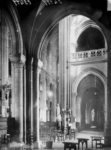 Cathédrale (ancienne) Transept et bas-côté sud, Heuzé, Y.,