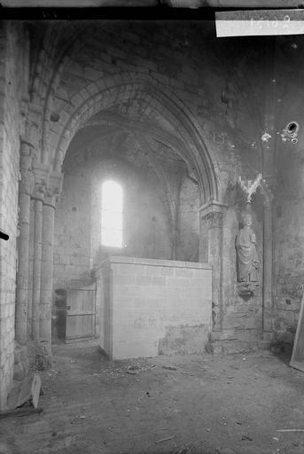 Eglise Bras sud du transept, Service photographique,