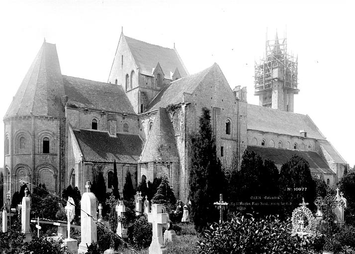 Eglise Saint-Nicolas (ancienne) , Durand, Eugène (photographe),