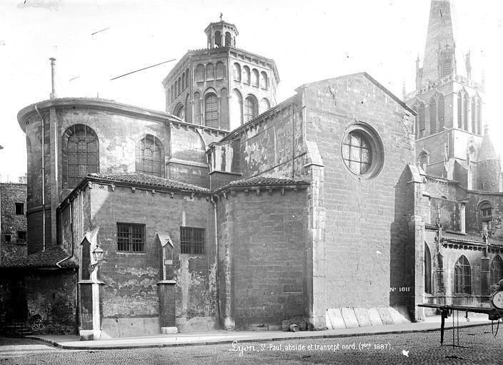 Eglise Saint-Paul Façade nord : Abside et transept, Mieusement, Médéric (photographe),