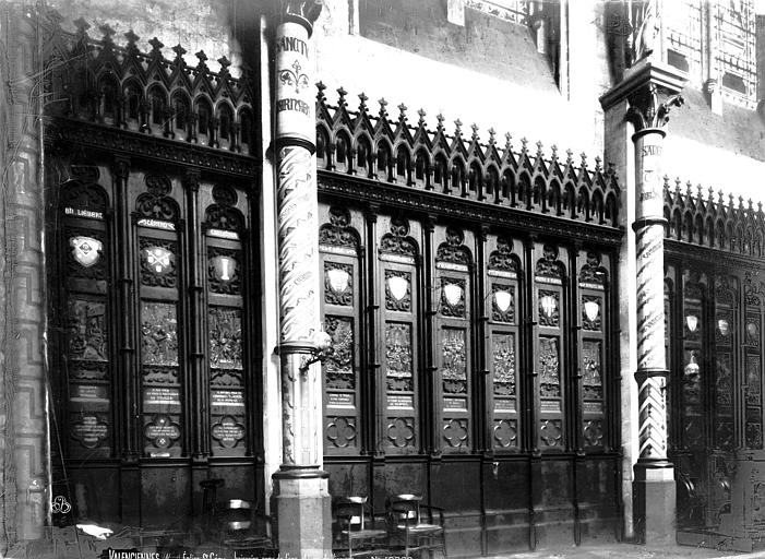 Eglise Saint-Géry Boiseries, Robert, Paul (photographe),
