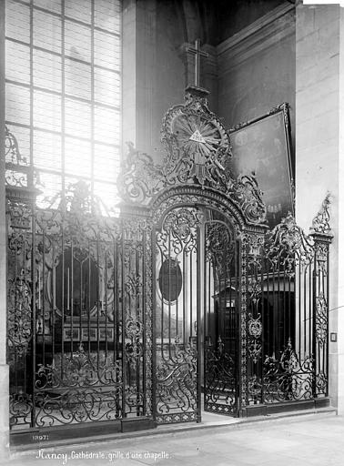 Cathédrale de l'Annonciation-de-la-Vierge Grille d'une chapelle, Mieusement, Médéric (photographe),
