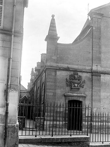 Eglise Façade ouest : partie nord, Chaine, Henri (architecte),