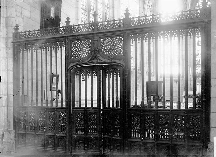 Cathédrale Notre-Dame Clôture de chapelle, Enlart, Camille (historien),