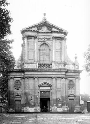 Eglise Notre-Dame ou de la Gloriette Façade ouest, Durand, Jean-Eugène (photographe),