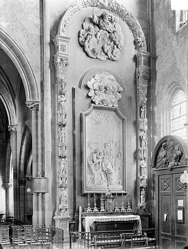 Eglise Saint-Michel Retable des Rois Mages, Gossin (photographe),