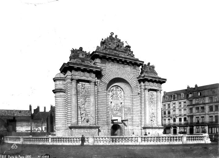 Porte de Paris , Robert, Paul (photographe),