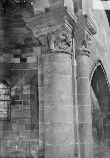 Eglise Notre-Dame Chapiteau, Durand, Georges (photographe à Amiens),
