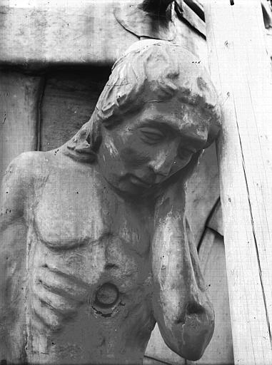 Cathédrale Notre-Dame Buste d'une cariatide, Lajoie, Abel,