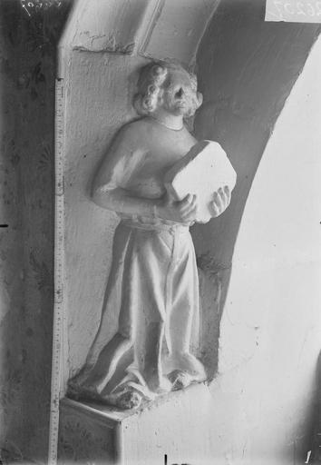Maison Statuette d'amortissement, Verneau, G.,