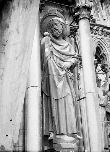 Cathédrale Notre-Dame Statue de saint Jacques, Lajoie, Abel,