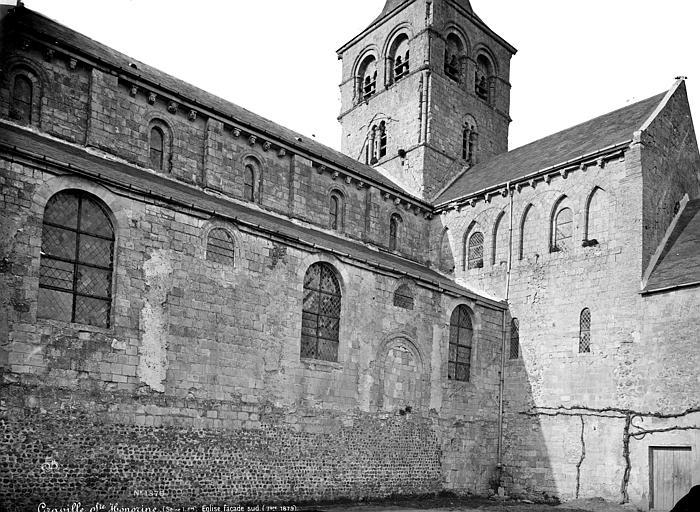 Abbaye de Graville-Sainte-Honorine (ancienne) Eglise : Façade sud, Mieusement, Médéric (photographe),