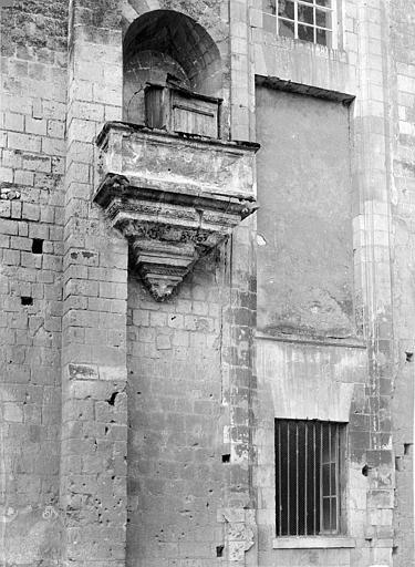 Cathédrale Saint-Gatien Archevêché : chaire sur le grand pignon, ,