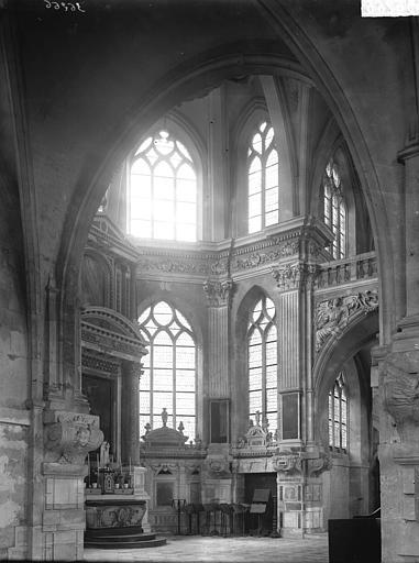 Chapelle du collège Choeur, Enlart, Camille (historien),