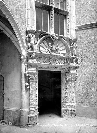 Maison Dupré-Latour Porte de l'escalier, Mieusement, Médéric (photographe),