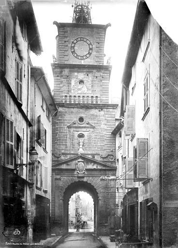 Tour de l'Horloge Beffroi, Durand, Jean-Eugène (photographe),