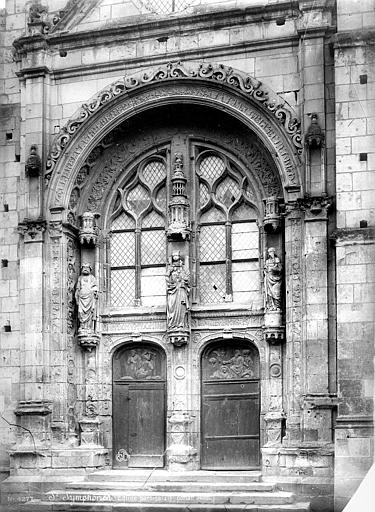 Eglise Saint-Symphorien Portail de la façade ouest, Mieusement, Médéric (photographe),