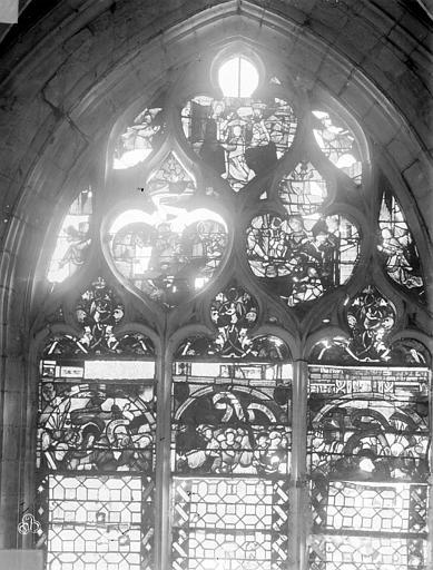 Eglise Saint-Nizier Vitraux, fenêtre A, Lancelot, Gustave,