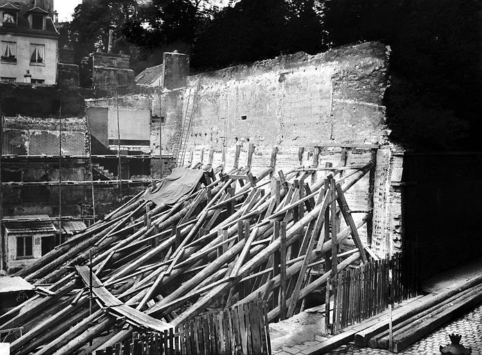 Mur de Philippe-Auguste , Durand, Eugène (photographe),