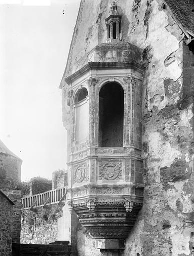 Château Tour de l'aumônerie : Echauguette, Durand, Jean-Eugène (photographe),
