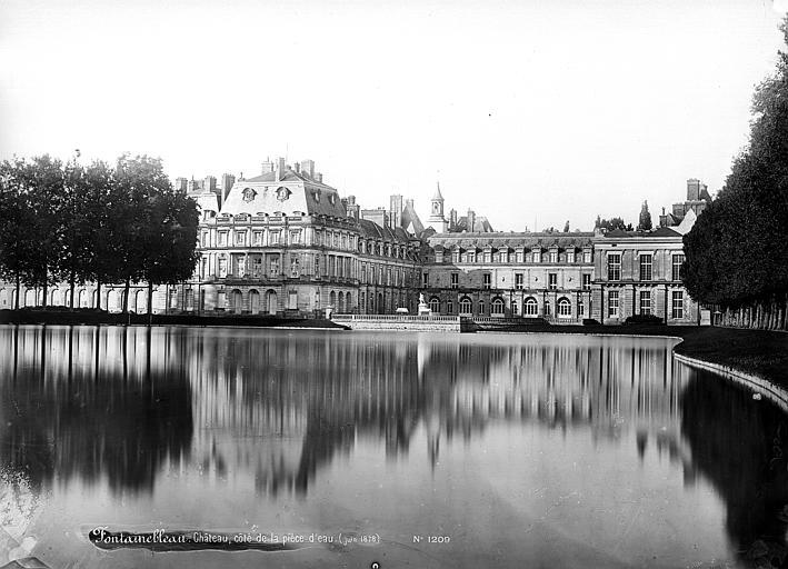 Domaine national, château Vue d'ensemble, prise du côté des pièces d'eau, Mieusement, Médéric (photographe),