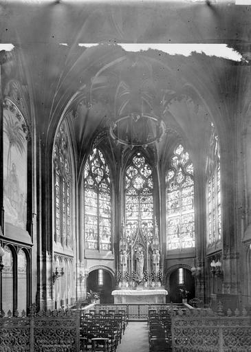 Eglise Saint-Gervais-Saint-Protais Chapelle de la Vierge, Durand, Eugène (photographe),