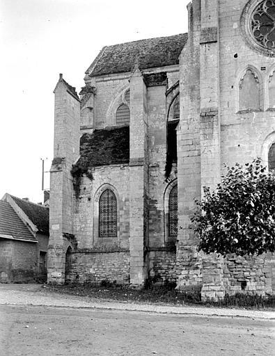 Eglise Saint-Lucien Abside, au nord, Chaine, Henri (architecte),