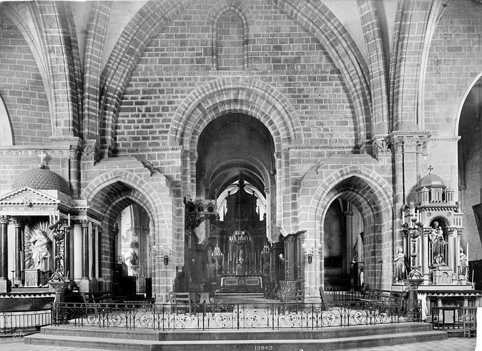 Cathédrale de la Trinité Vue intérieure du choeur, Mieusement, Médéric (photographe),