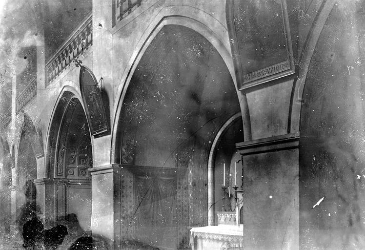 Cathédrale Notre-Dame Chapelle et bas-côté nord, Enlart, Camille (historien),