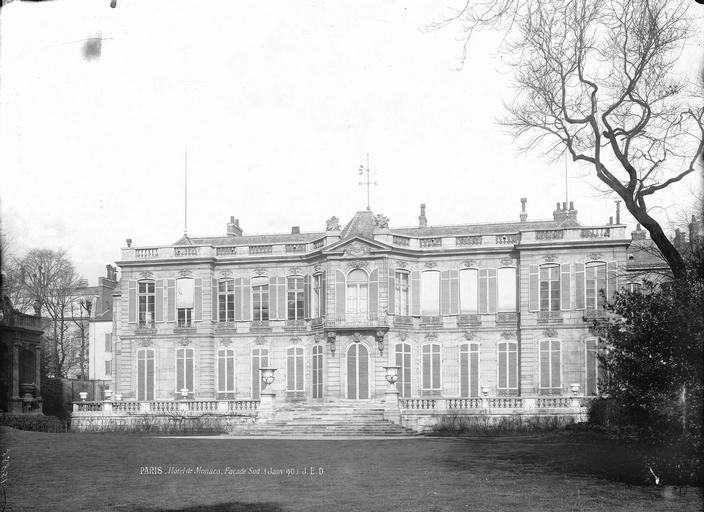 Hôtel Monaco Ensemble sur le jardin, Durand, Eugène (photographe),