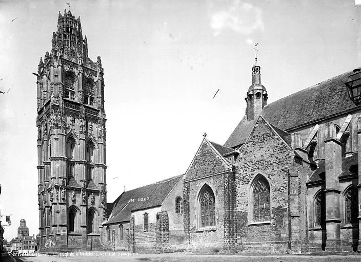 Eglise de la Madeleine Ensemble sud, Durand, Eugène (photographe),