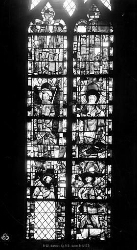 Eglise Notre-Dame Vitrail, Durand, Eugène (photographe),