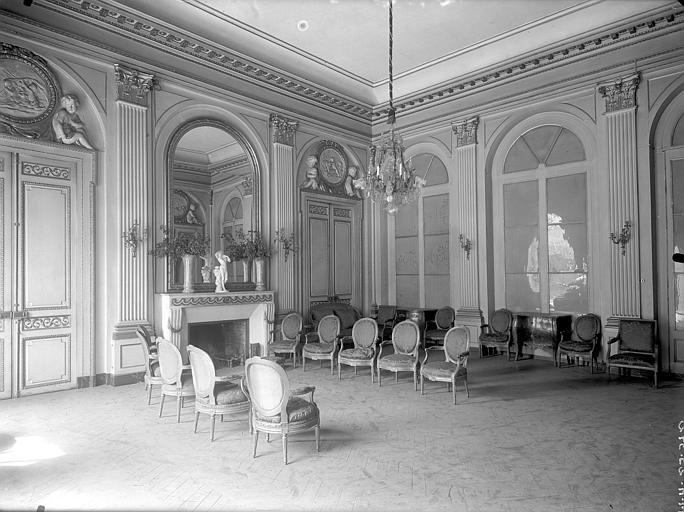 Hôtel de Chazerat Salon, Lefèvre-Couton (photographe),