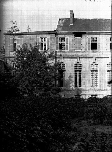 Evêché  (ancien) Partie sur les jardins, Service photographique,