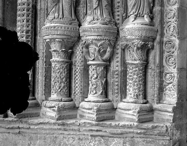 Cathédrale Saint-Etienne Portail de la façade sud : soubassement de l'ébrasement gauche, Mieusement, Médéric (photographe),