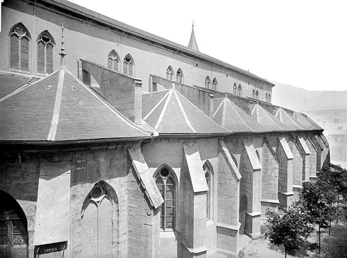 Cathédrale Saint-François-de-Sales Façade sud en perspective, Mieusement, Médéric (photographe),