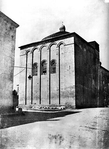 Eglise Saint-Etienne-de-la-Cité ; Cathédrale (ancienne) Chevet, côté nord-est, Le Gray, Gustave ; Mestral, Auguste (photographe),