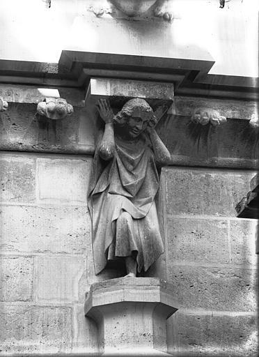Cathédrale Notre-Dame Cariatide, Lajoie, Abel,