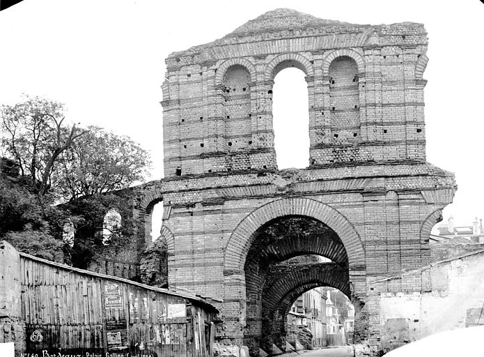 Amphithéatre dit Palais Gallien (ancien) Ensemble, Mieusement, Médéric (photographe),