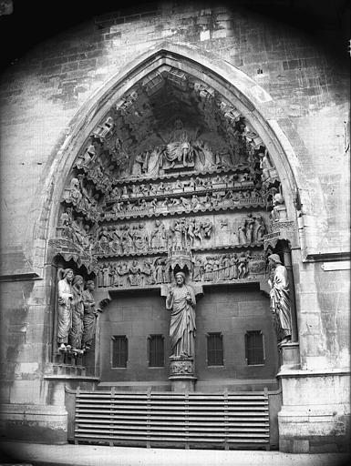 Cathédrale Notre-Dame Portail nord, ensemble, Lajoie, Abel,