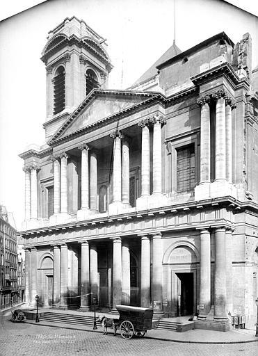 Eglise Saint-Eustache Façade ouest, Durand, Eugène (photographe),