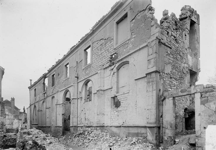 Couvent des Cordeliers (ancien) Façade, Verneau, G.,