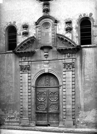 Chapelle des Cordeliers (ancienne) Portail, Mieusement, Médéric (photographe),